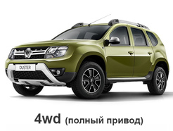 Renault Duster 2015 - 2020 (4WD)